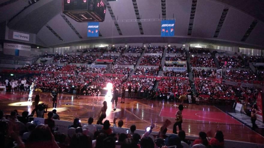 大阪エヴェッサBリーグ開幕戦に行ってきました!